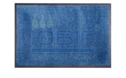 Придверный коврик 117х180 см. голубой Super Nytex фото