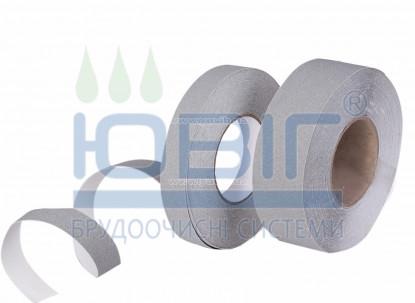 Антискользящая лента стандартная зернистость, серая, погонный метр фото