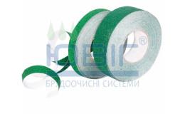 Антискользящая лента стандартная зернистость, зеленая, погонный метр фото