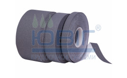 Антискользящая лента упругая, серая. Рулон 18.3 п. м. фото
