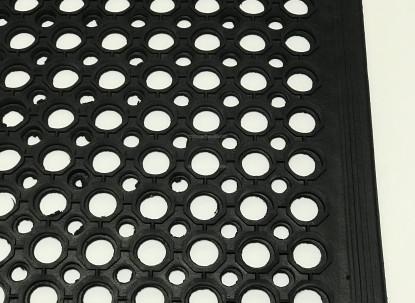 Резиновый коврик Сота 80х120х1,2 см фото