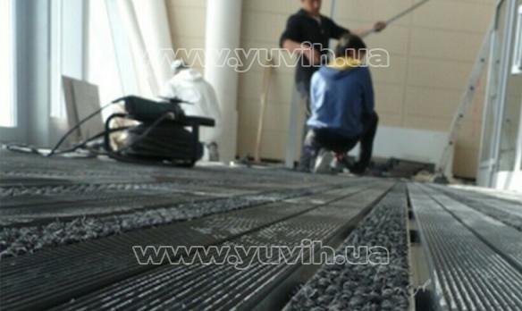 Ремонт грязезащитных решеток фото